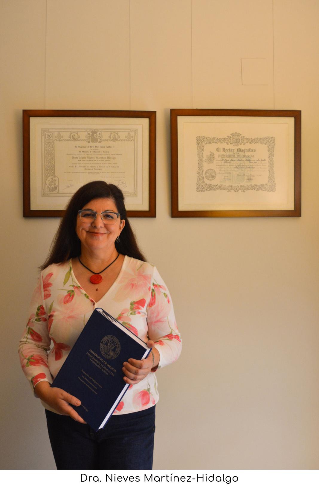 Dra. Nieves Martínez-Hidalgo: Psicóloga en Murcia desde 1984
